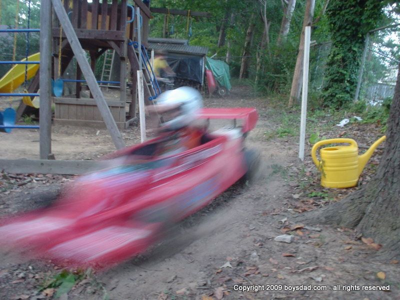 how to build a go kart track in your backyard