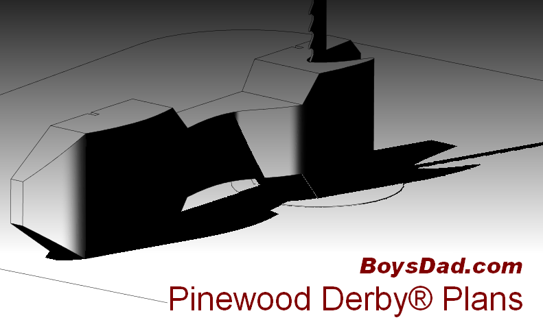 pinewood - Free Pinewood Derby Car Templates
