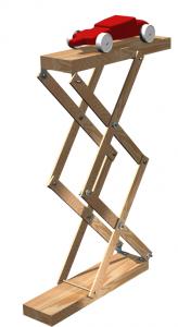 Make a Scissors Lift (Woodworking Plans) – BoysDad com