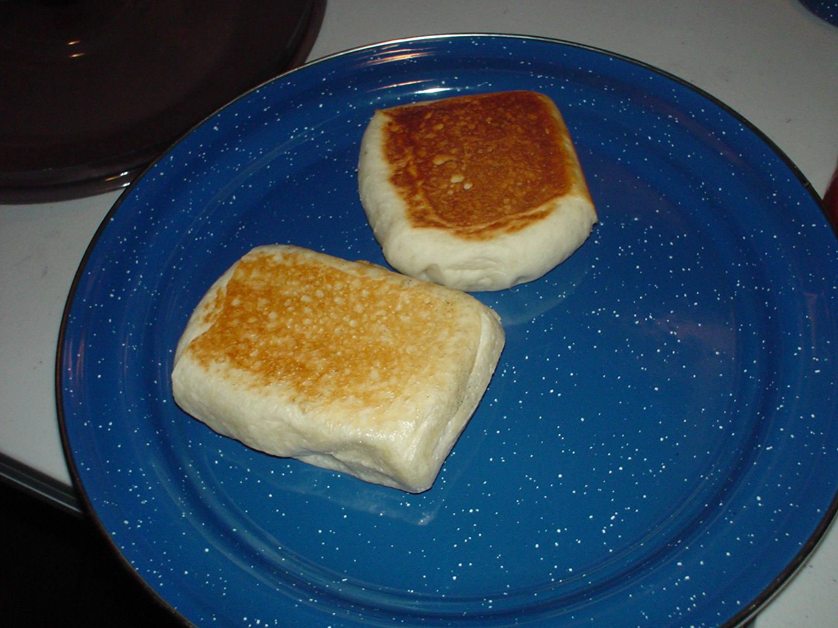 Pie Iron French Bread