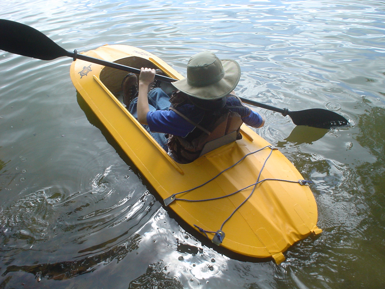 Boy Scouts Folding Kayak