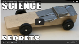 Pinewood Derby Secrets Video