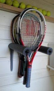 Tennis Racquet Rack